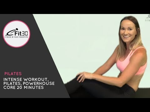 Intense Workout, Pilates, Powerhouse Core 20 Minutes