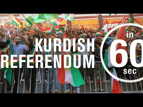 Kurdish referendum 2017 | IN 60 SECONDS