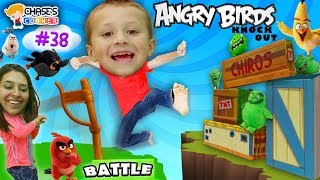Chase's Corner: Angry Birds Pretend Play in Real Life (#38) | DOH MUCH FUN