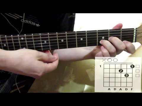 HIM - The Funeral Of Hearts acoustic version cover how to play guitar lesson