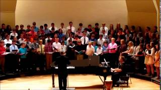 """The 8th and 9th Grade Bass Cleft Voices perform Mark Patterson's """"T..."""