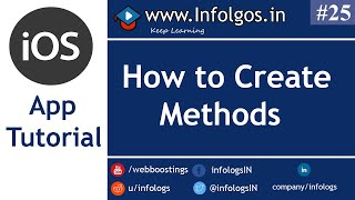 How to create Methods in xCode - Tutorial 23