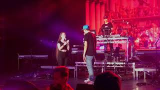 Logic brings up fan on stage in Sweden, see what happens!!!