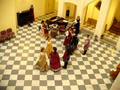 17th Century Dance  La Matelotte  Soubor Anello