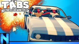 The Dangers Of Driving In Battle Royale - TABG
