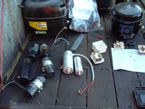 Single Phase 220v Wiring Diagram Re Compressor Starting Equipment And Wiring Diagram Youtube