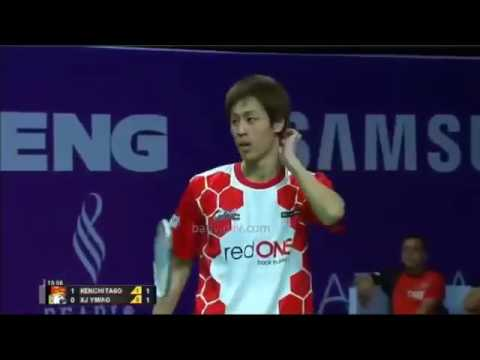 Kenichi Tago VS Xu Yiming   Malaysia Purple League 2016 2017