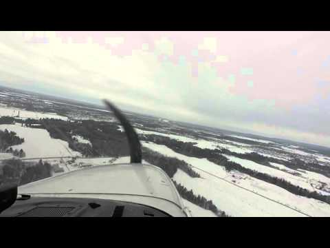 Approach To Gatineau Airport (CYND)