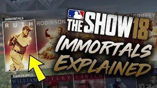 How to Unlock Immortals MLB The Show 18 Diamond Dynasty (Immortals Explained)