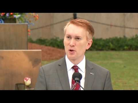 Sen. James Lankford speaks at Oklahoma City bombing memorial remembrance service