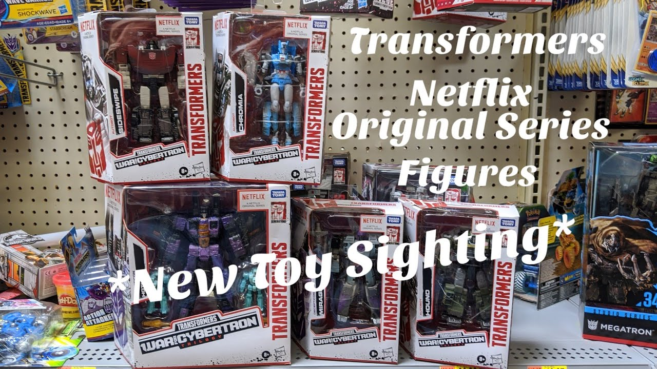 War For Cybertron Netflix Original Series Figures Walmart Sighting by Rodimusbill