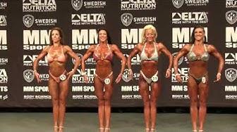 SM 2015 - Bodyfitness  -168cm förbedömning