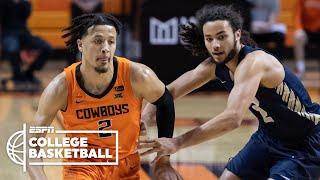 Watch highlights of the top pick in espn's 2021 nba mock draft, cade cunningham, as he leads oklahoma state cowboys with 29 points (9-18 fg) and three as...