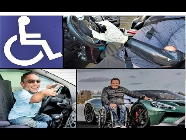 AMAZING! This is How Disabled People Drive!
