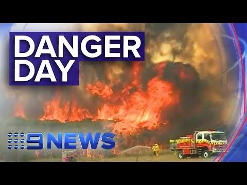 Australia Wakes To Potentially Catastrophic Bushfire Day | Nine News Australia