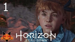 Let's Play Horizon Zero Dawn [Blind] Part 01 - A Gift from the Past