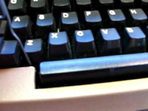 IBM Selectric lll keyboard repair