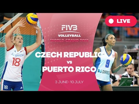 Czech Republic v Puerto Rico - Group 2: 2016 FIVB Volleyball