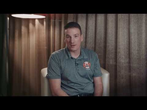 Firefighter Andrew discusses having ET and participating in myMPN