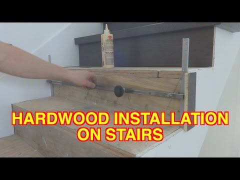 How to Install Hardwood on Stairs: Open Side Staircase Installation Tips MrYoucandoityourself