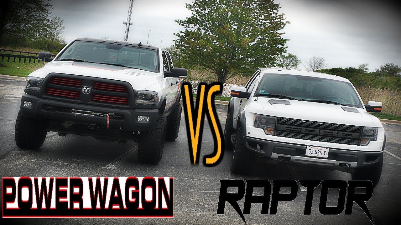 ford raptor vs ram power wagon collab wanted youtube. Black Bedroom Furniture Sets. Home Design Ideas