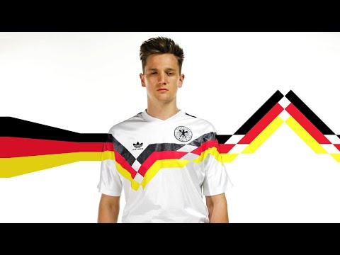 Germany Jerseys Through Time