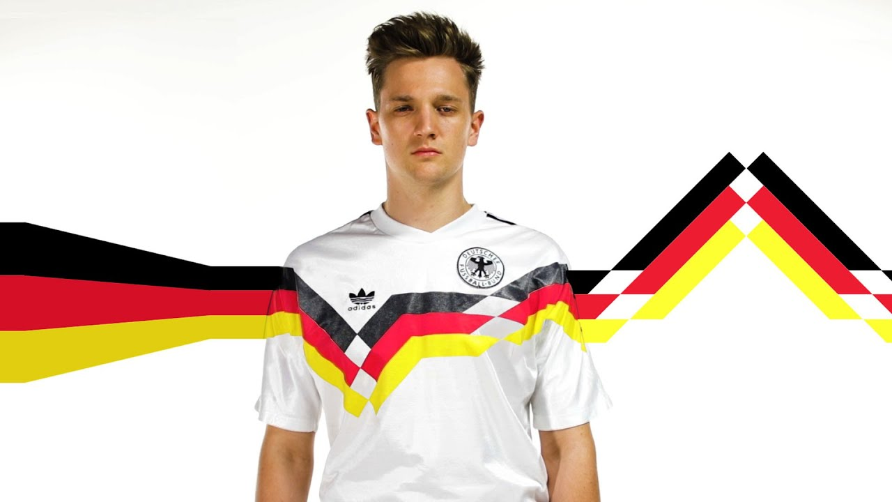 f40426f7f History Of Germany s World Cup Football Kits - YouTube
