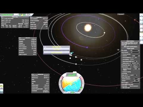 Kerbal Space Program - Asteroid Retrieval (no sound)