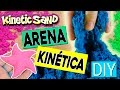 ARENA KIN�TICA casera * DIY Kinetic MOVING sand