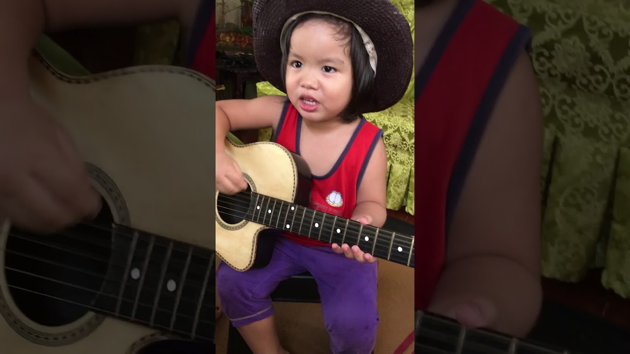 Bahay Kubo With Guitar By Brevin Youtube