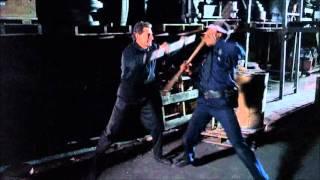 Police Academy 6 Kung Fu robot scene fight
