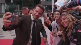 A STAR IS BORN: Bradley Cooper Red Carpet Premiere Arrivals TIFF 2018