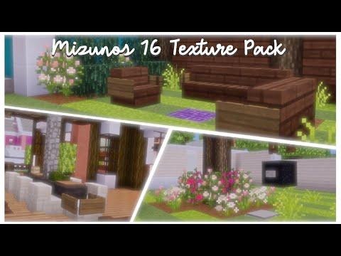 mizunos 16 texture pack review minecraft pe 🧚🏽♀️✨ cottage