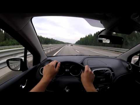 Renault Kaptur давим по трассе 60p