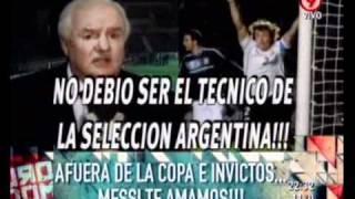 Duro de Domar - Afuera de la Copa e invictos... Messi te amamos! 18-07-11