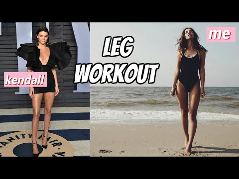 How To Get LEAN LEGS Like Kendall Jenner | Leg Slimming Workout