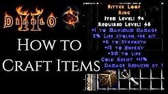 How to Craft in Diablo 2
