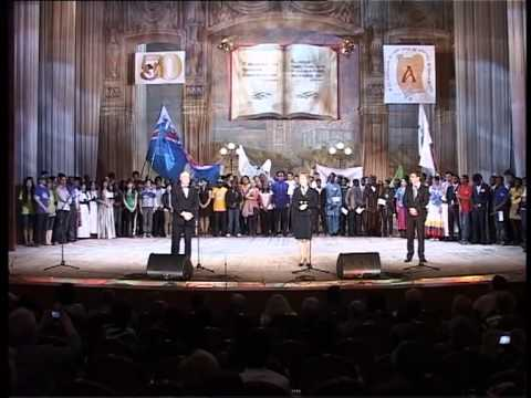 Foreign students: Festival of Russian speech, Voronezh