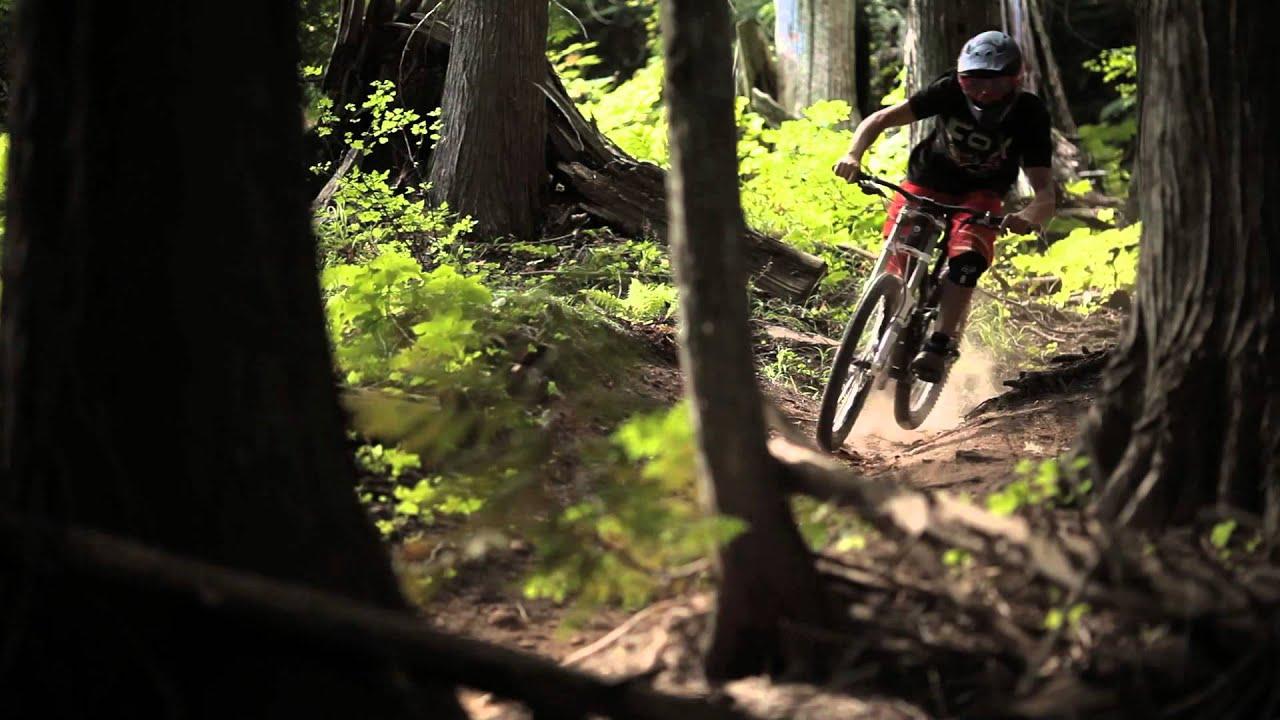 Bike Park In Fernie Dh Riding At Fernie Alpine Resort 2013 Youtube