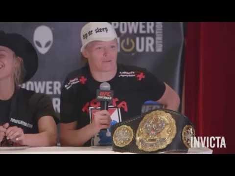 Invicta FC 14: Post-Fight Press Conference