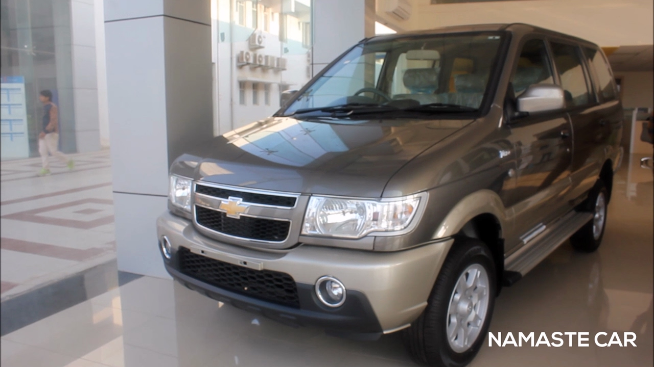 Chevrolet Tavera 2016 In Detail Real Life Review Youtube