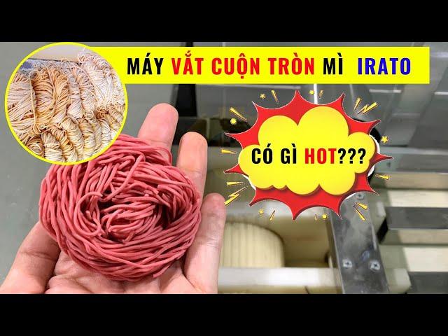 [SIÊU PHẨM] Máy vắt mì IRATO: làm mì, cắt sợi và vắt cuộn tròn mì| Hotline 0936.686.030 | VinaIrato