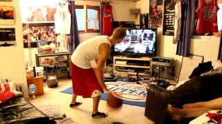 MrMike plays NBA Baller Beats Xbox360 Kinect Basketball