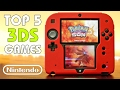 My Top 5 FAVORITE Nintendo 2DS/3DS Games of All Time!