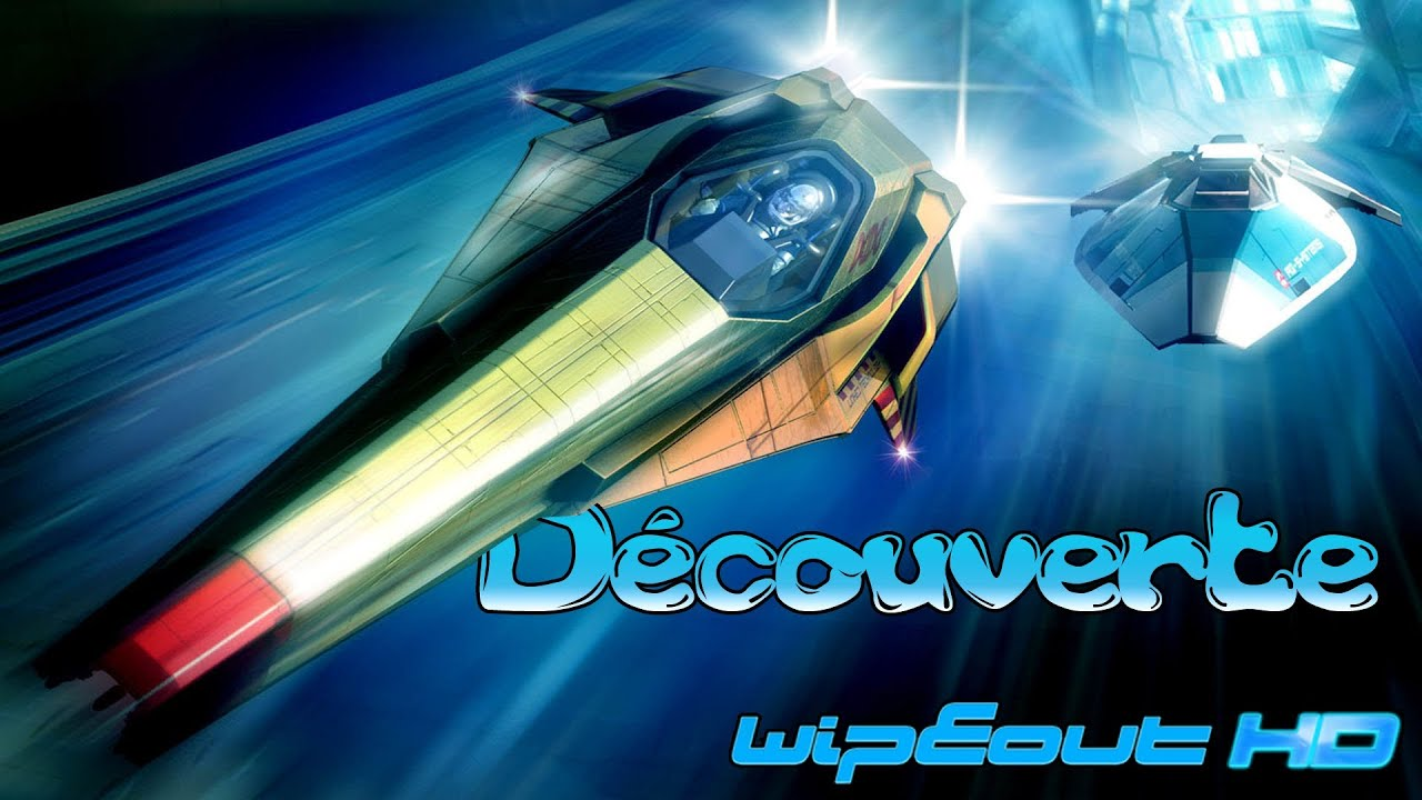 wipeout hd fury test et d couverte de ce jeu de course futuriste youtube. Black Bedroom Furniture Sets. Home Design Ideas