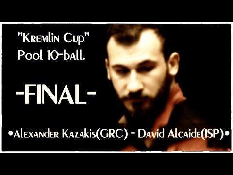 """""""Kremlin Cup"""".Pool 10-ball.Final./TV Sport"""