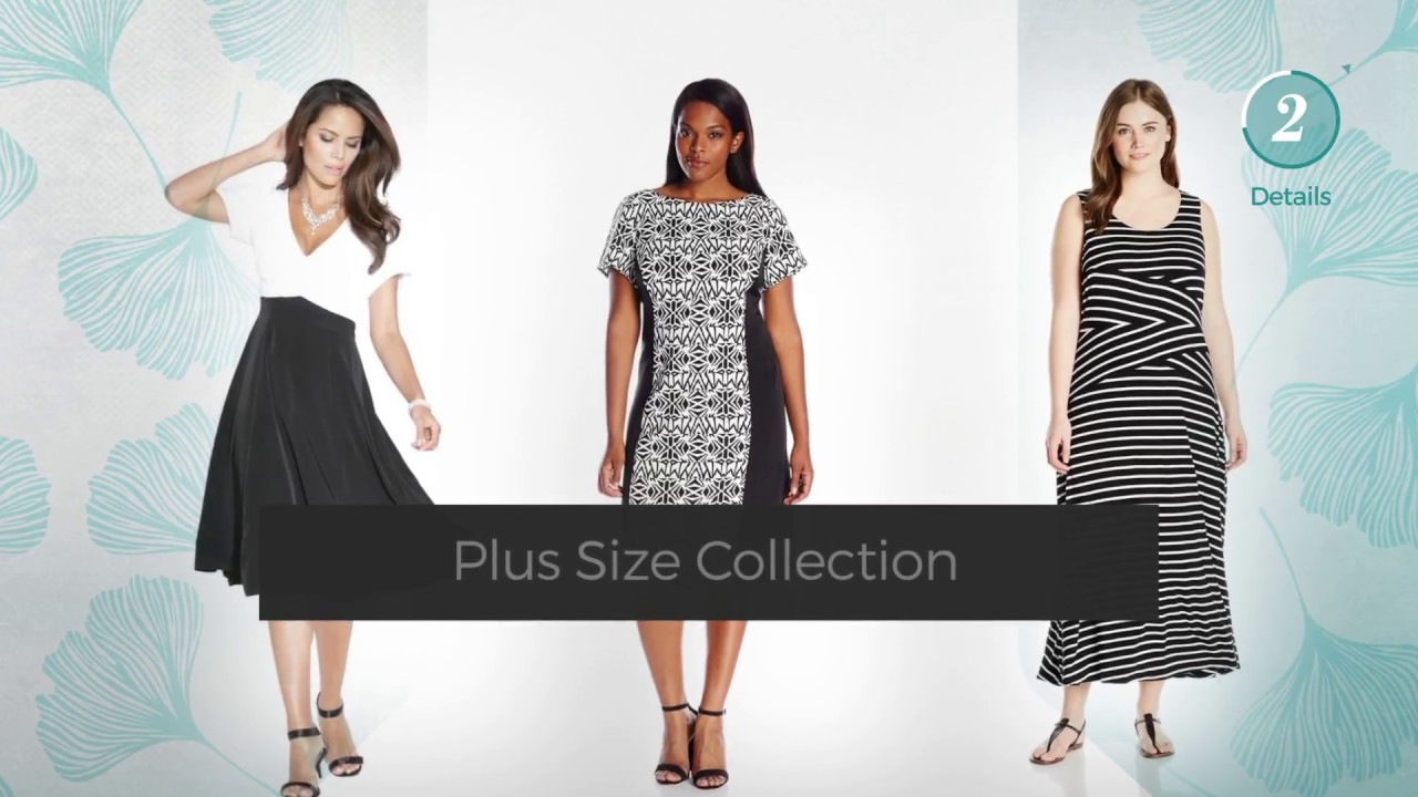 black and white plus size dresses // amazon fashion top selected