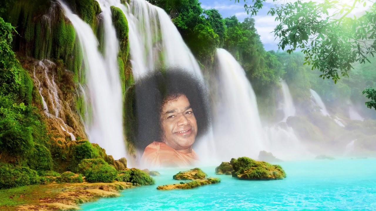 Risultati immagini per Sathya Sai baba nella natura