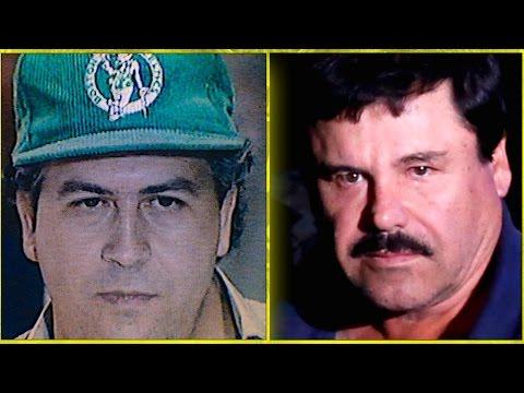 Pablo Escobar Vs. 'El Chapo' Guzmán Comparison | Narcos Netflix