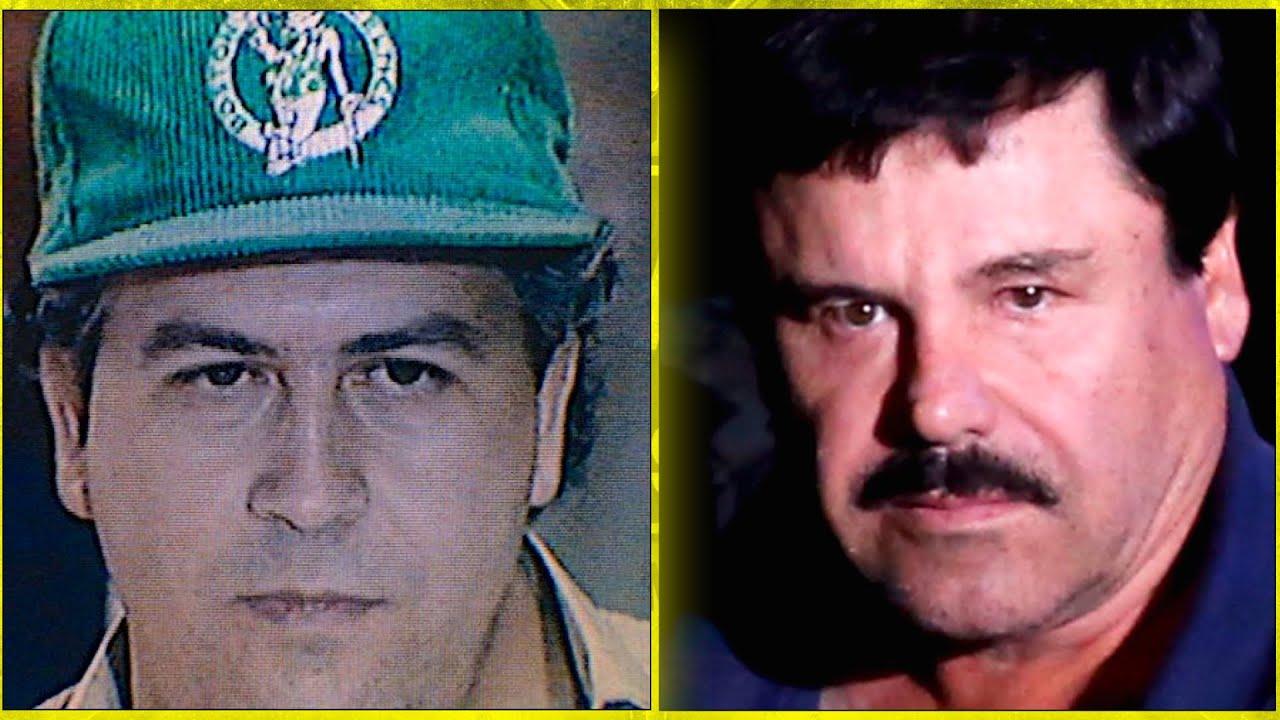 Pablo Escobar Vs. 'El Chapo' Guzmán Comparison
